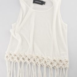 Mink Pinkfringe tank, $65, from Shades of Grey Boutique.
