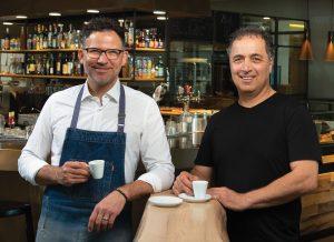 Owners Antonio Bilotta and Frank Imbrogno.