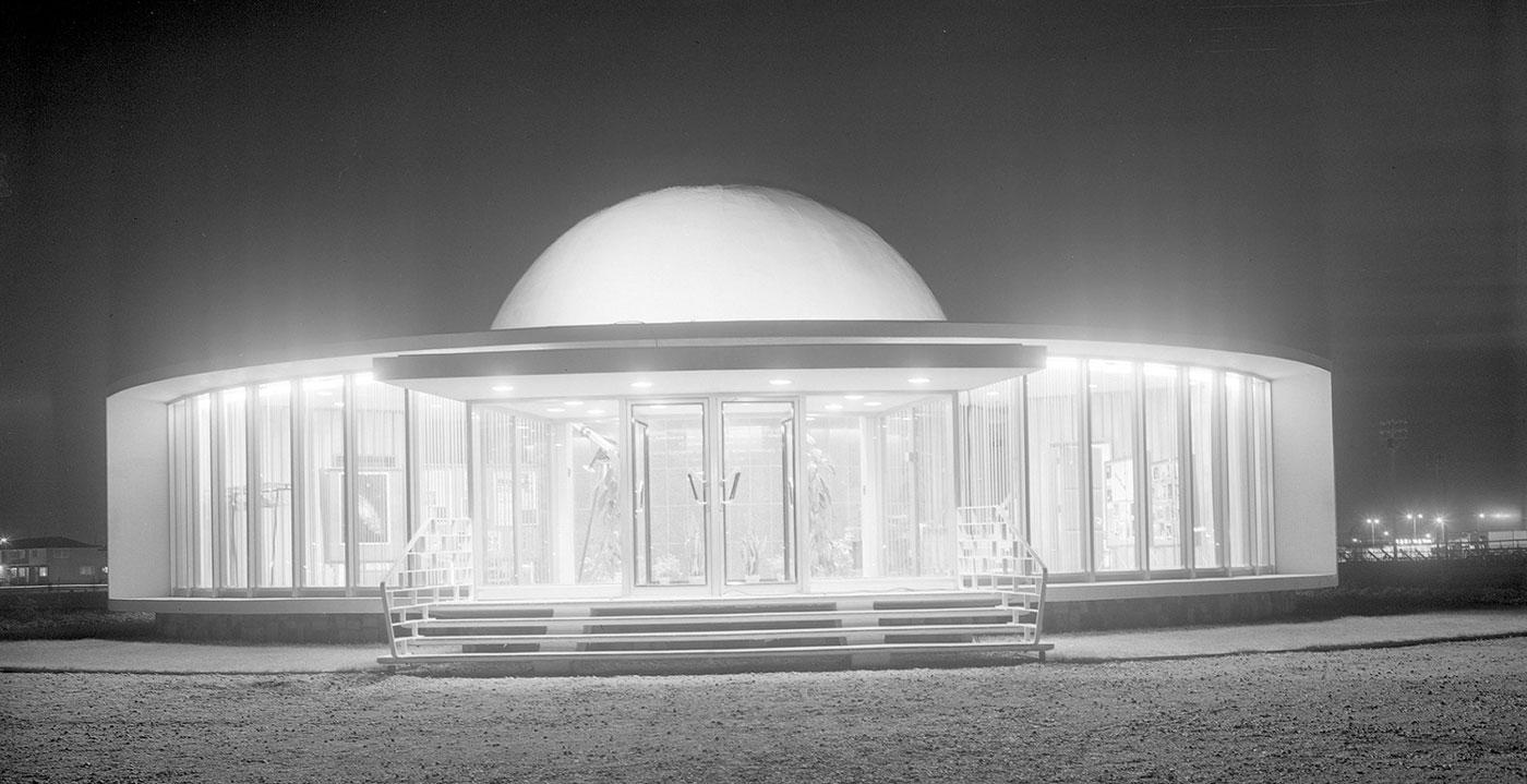 Archive photo of the Queen Elizabeth Planetarium